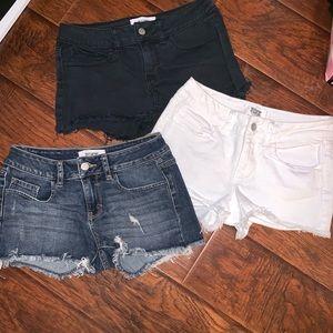 3 pairs PINK shorts